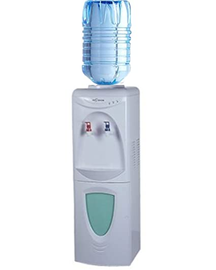 Fuente de agua con columna refrigerante para bidones y dispensadores.