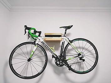 BikeLiving Estante de Madera para Bicicleta Hecho a Mano ...