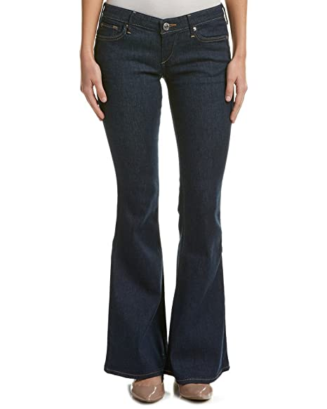lowest price bottom price special selection of True Religion Women's Kalry Low Rise Bell Bottom Jean in with Shorter Inseam