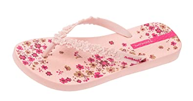 338cf7632 Ipanema Brasil Fashion Floral Blush Womens Flip Flops