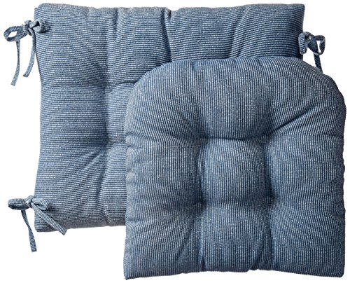 Klear Vu Gripper Jumbo Saturn Rocking Chair Cushion Set Blue