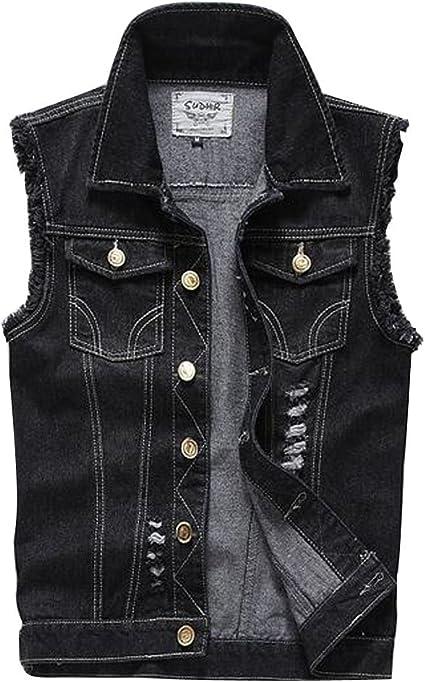 Jeans vest jeans jacket black jeans vest
