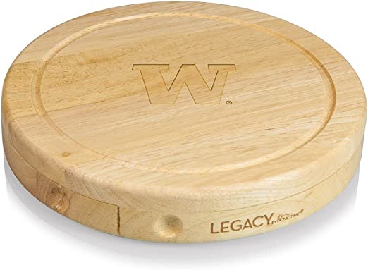 Rubberwood Toscana A Picnic Time Brand Brie Cutting Board /& Tools Set Cheese Boards One Size