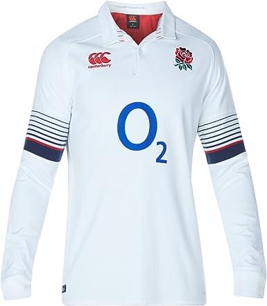 England Rugby Vapodri Home Classic Shirt Top 2017//18 Long Sleeve Kids
