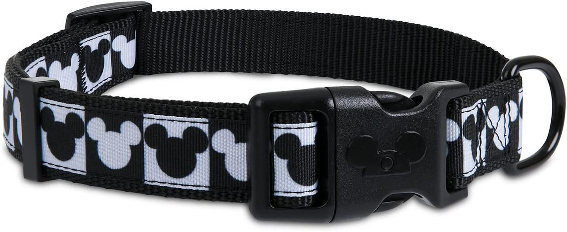 DISNEY Parks Tails  MICKEY  MOUSE Icon DOG COLLAR XL DOGS Up To 10 LBS New