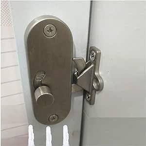 Cerradura de puerta corredera, cerradura de puerta corredera y ...