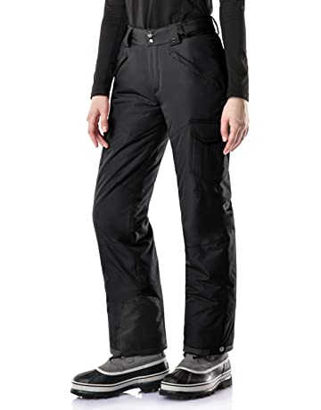 2bea83902578 TSLA Women s Rip-Stop Snow Pants Windproof Ski Insulated Water-Repel  Bottoms XKB90
