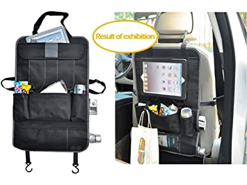 backseat car organizer kids toy car storage travel accessories for baby child car