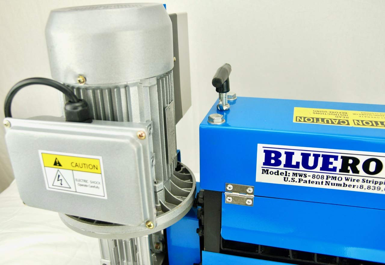 BLUEROCK Tools Model MWS-808PMO Wire Stripping Machine Copper Cable Stripper by BLUEROCK (Image #5)