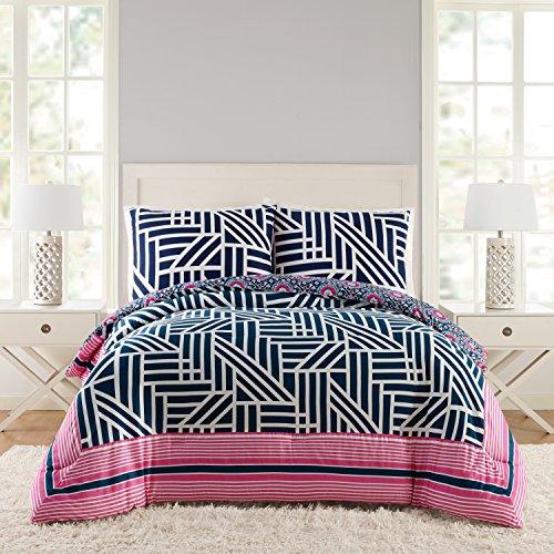 Peking Vera Bradley A073416NYEFS Geo Comforter Set, KING,...