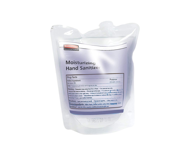 Rubbermaid Commercial Spray Moisturizing Hand Sanitizer Refill, 400 ml, FG450030