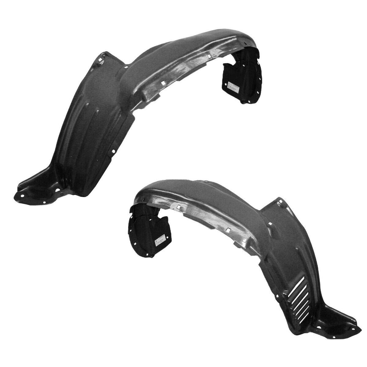 Parts N Go 2005-2011 Tacoma 2WD Front Driver /& Passenger Side Fender Liner Set 5387604150 TO1248134