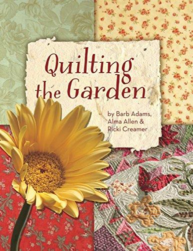 Quilting the Garden (Blue Onion Creamer)