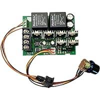 Segolike DC 9-50V 40A DC Motor Speed Control Reversible PWM Controller 12V 24V 36V 48V 2000W Forward Reverse Switch