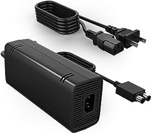 Power Supply for Xbox 360 Slim, YCCTEAM AC Adapter Power Supply Charger Cord for Xbox 360 Slim Auto Voltage (100V-240V)