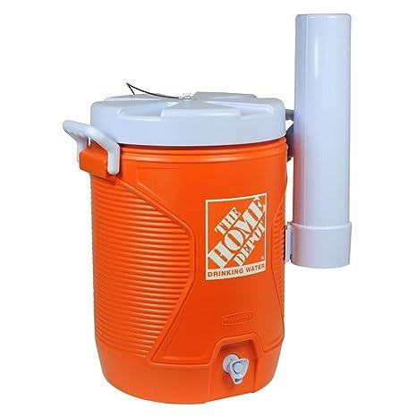 Enfriador de agua naranja 5 Gal.: Amazon.es: Jardín