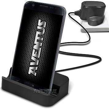 Aventus 5054325320355 Vodafone Smart Turbo 7 Estación de carga micro USB y cargador de sobremesa con