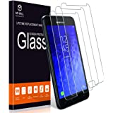 [3-Pack] MP-MALL Screen Protector for Samsung Galaxy J7 2018, [Case Friendly] [Anti-Scratch] Tempered Glass Screen Protector
