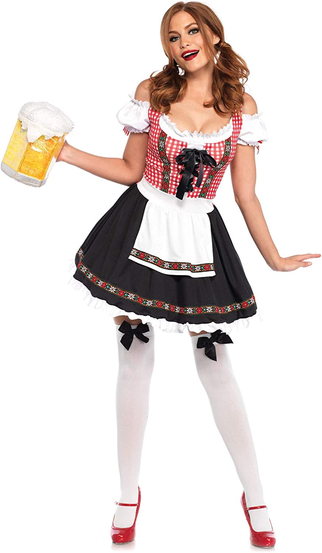 Leg Avenue Women's Beer Garden Babe Oktoberfest Costume
