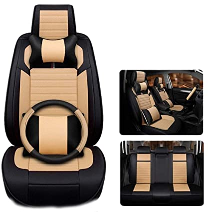 Astonishing Universal Pu Leather Car Seat Cover Sets Four Seasons Five Pdpeps Interior Chair Design Pdpepsorg