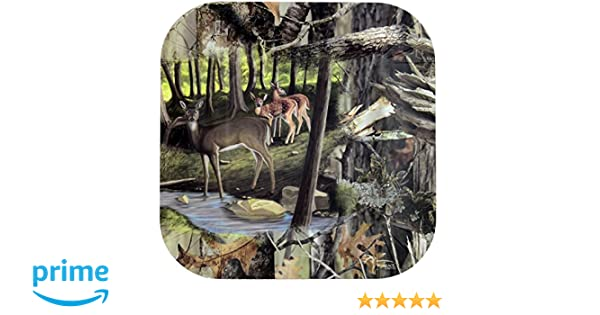 Deer Hunting Dessert Plates 7 Square Paper Plates Next Camouflage