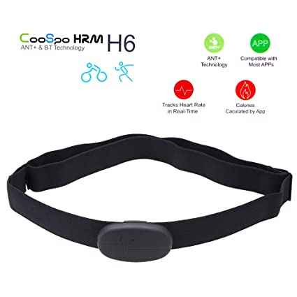 Anself CooSpo H6 ANT BT V4.0 Wireless Sport Heart Rate Monitor Smart Sensor Chest Strap for iPhone 4S 5 5S 5C 6 6Plus iPad Wahoo Fitness Fitcare