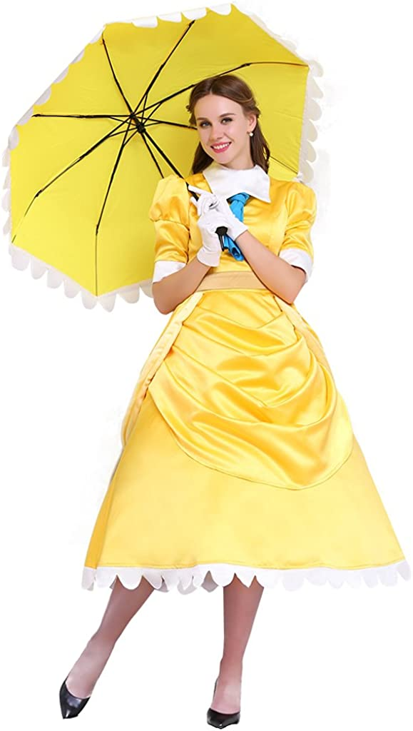 CosplayDiy Costume Dress Yellow