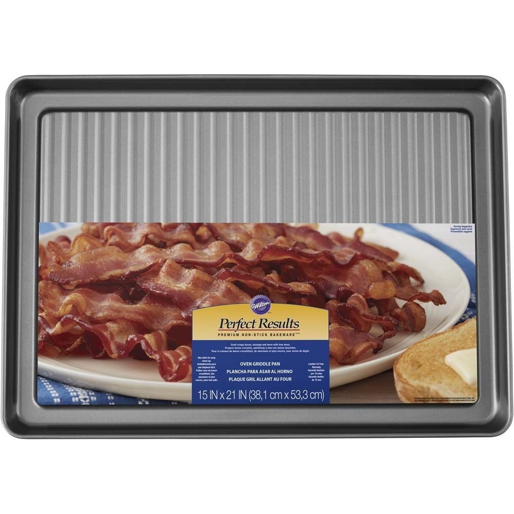 Wilton Non-Stick Griddle and Bacon Pan, 15 x 20-Inch