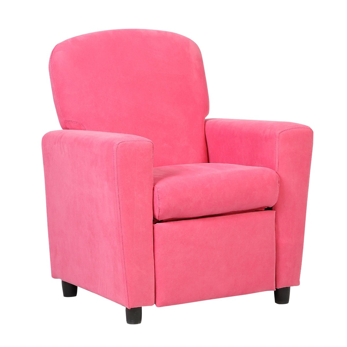 Costzon Kids Recliner Sofa Chair Children Reclining Seat Couch Room Furniture (Pink)