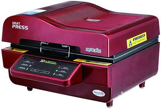 Máquina de la prensa del calor, WER 3D sublimación al vacío prensa ...