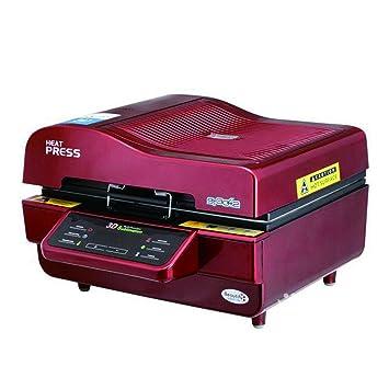 Máquina de la prensa del calor, WER 3D sublimación al vacío prensa del calor de
