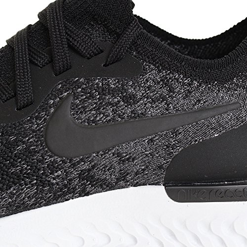 Nike Black WMNS Platinum Flyknit Black Running pure Grey Femme dark React Multicolore de Chaussures 001 Compétition Epic rrfAxP