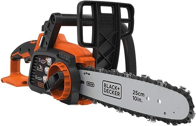 BLACK+DECKER GKC1825LB-XJ - Espada 25 cm Peso 3,10 Kg Bateria 18 V 4Ah (no incluida)