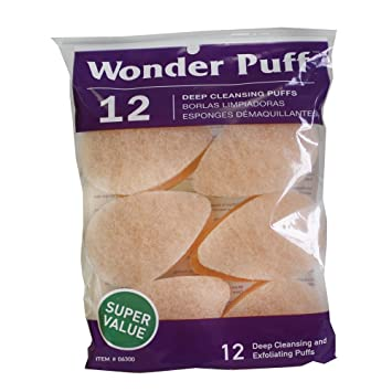 Wonder Puff 40 Deep Cleansing Puffs Amazonca Health Personal Care Classy Dosa Pouf