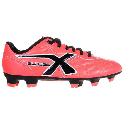 X Blades - Zapatillas de rugby de Material Sintético para niño Bright Crimson: Amazon.es: Zapatos y complementos
