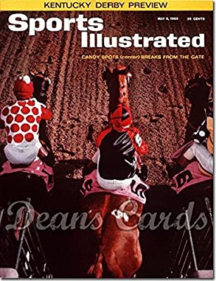 Sports Illustrated - With Label May 6 1963 - Candy Spot Kentucky Derby (Magazine/Publication) (Has Address Label on Front) Dean's Cards 6 - EX/MT