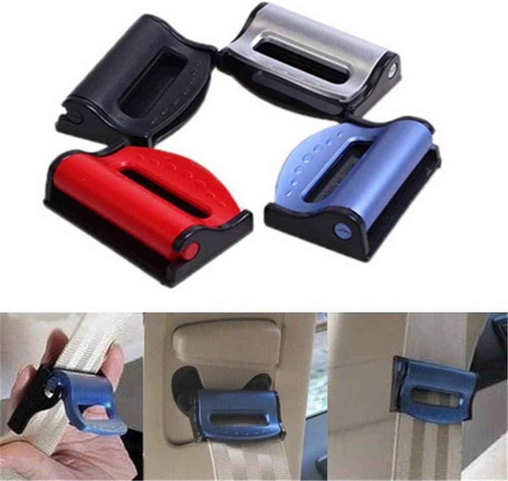 facile da applicare clip per cintura di sicurezza ZOOENIE 2 pezzi seggiolino auto regolabile Locator stopper fermo cinghia//clip cinghia Smart Adjust per rilassarsi