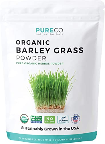 USDA Organic Barley Grass Powder 8 oz