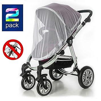 Amazon.com: Paquete de 2 bebé mosquitero para carritos ...