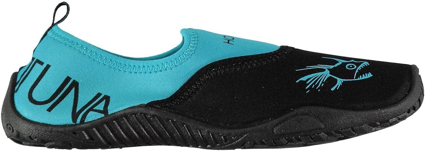 Hot Tuna Aqua Water Shoes Childs Boys Blue Sandals Flip Flop Beach Shoes Thongs