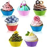42 pcs Silicone Cupcake Baking Cups, SENHAI