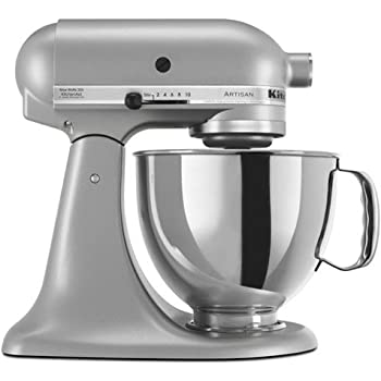 Amazon Com Kitchenaid Ksm150pscu Artisan Series 5 Qt