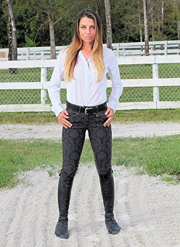 - Equine Couture Ladies Geo Show Shirt (38)