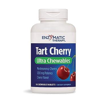 Amazon.com: Enzymatic Therapy Tart Cereza Ultra Chewable ...