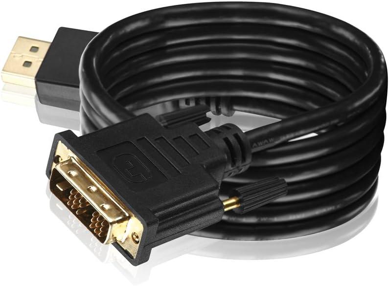 vergoldete Kontakte HDSupply DC010-020 DisplayPort Verbindungskabel schwarz DisplayPort Stecker - DisplayPort Stecker 2,00m