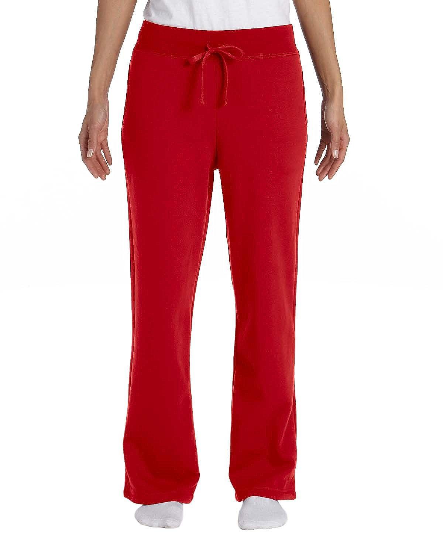 Gildan Heavy Blend Ladies 8 oz. 50/50 Open-Bottom Sweatpants G184FL