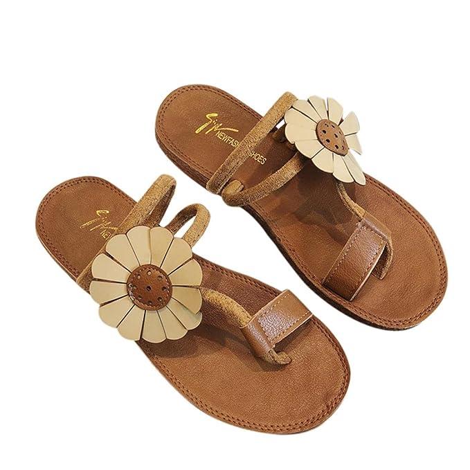 Donna Sandali pantofole con il cinturino scarpe estive caviglia Shoes Slipper