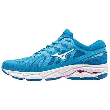 7c923b551c Mizuno Wave Ultima 11, Chaussures de Running pour Femme, Bleu  (MalibuBlue/White