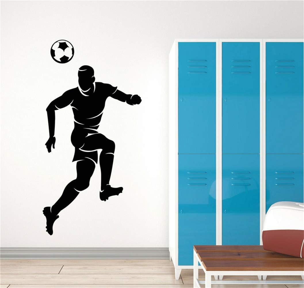 pegatina de pared frases Videojuego Decoración Calcomanías Para Juegos Fútbol Boy Juego De Pelota Deporte Fútbol Fan Pegatinas Mural: Amazon.es: Bricolaje y herramientas
