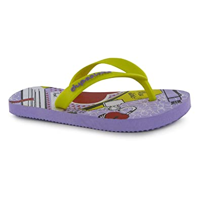 91ec7dc2ec86e dupe Pop Childrens Boys Outdoor Sandals Flip Flop Summer Beach Shoes Purple  Size  UK 1.5